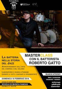 Master Class Roberto Gatto