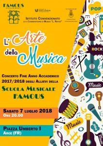 Concerto Scuola Famous - Arce