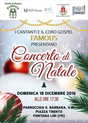 Concerto di Natle 2016