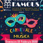 carnevale 2020 Suola Famous